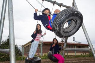 Freizeit, Spiel und Spaß kommen in der Aldea nicht zu kurz. Im Gefängnis gibt es das für die Kinder nicht. Foto: SMMP/Bock
