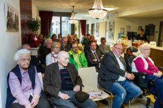 50 Besucher füllten das Foyer im Haus St. Josef. Foto: SMMP/Bock