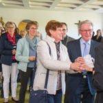 Nach der Messfeier hatten die zahlreichen Schwestern und Gäste gelegenheit, Schwester Judith zu gratulieren. Foto: SMMP/Ulrich Bock