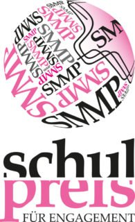 Das Logo für den 2019 erstmals ausgeschriebenen SMMP Schulpreis für Engagement.