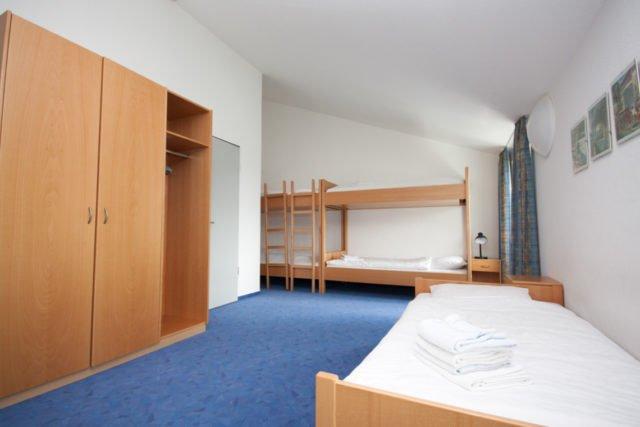 Mehrbettzimmer im Haus der Begegnung (Standard)