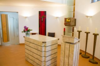 In den Kapellen der Seniorenheime - wie hier im Seniorenzentrum Am Eichendorffpark - wird vorerst kein Gottesdienst gefeiert. Foto: SMMP/Ulrich Bock