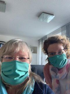 Schulleiterin Gaby Petry und ihre Stellvertreterin Kerstin Kocura im Placida Viel-Berufskolleg. Foto; Gaby Petry/SMMP