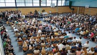 So shene die Abschlussfeiern in der Berufsbildenden Schule Bergschule St. Elisabeth in Heiligenstadt normalerweise aus. Diesmal gibt es einzelne Feiern für alle Bildungsgänge in dem kleineren Martinssaal. Foto: SMMP