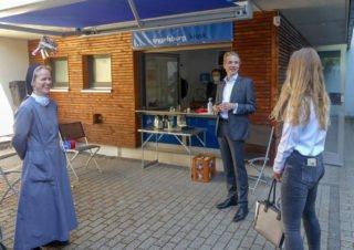 Am Engelsburg-Kiosk war immer etwas los. Foto: Angela Reiss/SMMP