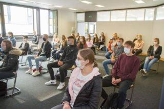 Der erste Tag begann für die neuen Klassen mit einem Einführungstag. Foto: SMMP/Ulrich Bock